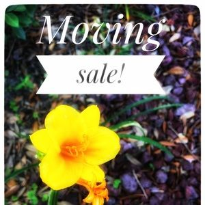 MOVING SALE! Please feel free to make offers!